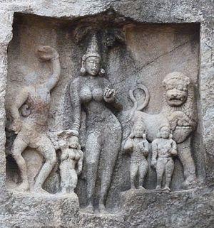 Kalugumalai Jain Beds - Ambika