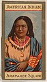 American Indian, Arapahoe Squaw, from Types of Nationalities (N240) issued by Kinney Bros. MET DPB875049.jpg