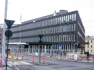 Embassy of the United States, Oslo - The former embassy is located on Henrik Ibsens gate in central Oslo.