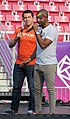 Amit Paley and Jussie Smollett at LoveLoud 2018 (42462968190).jpg