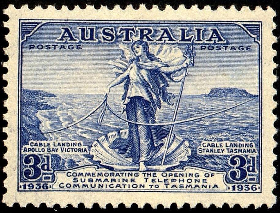 Amphitrite Australiastamp