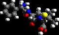 Ampicillin 3d structure.png