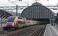Amsterdam CS Thalys 4303 met TGV neus (11772478254).jpg