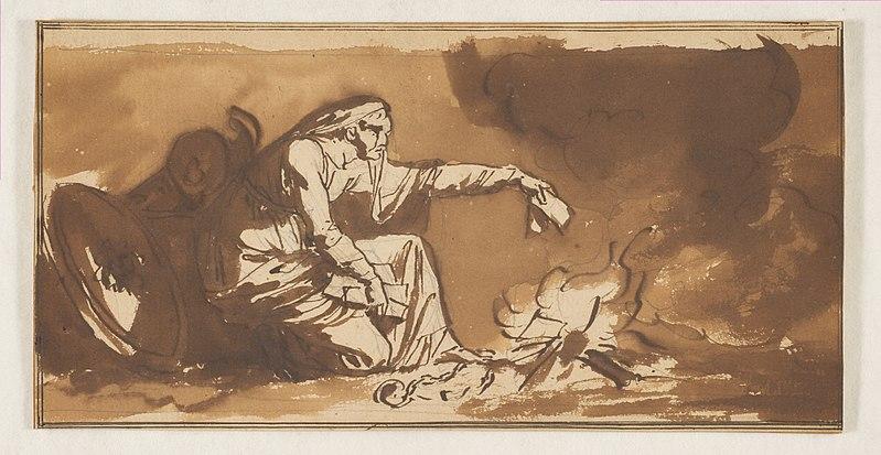 File:An Old Woman Burning Papers MET DP817990.jpg