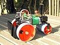 An un-steamed Mamod SR1a roller from 1973.jpg