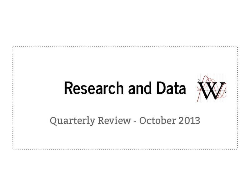 File:Analytics Quarterly Review Q2 2013 (Research and Data).pdf