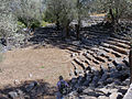 Ancient Roman theatre on Sedir Island.jpg