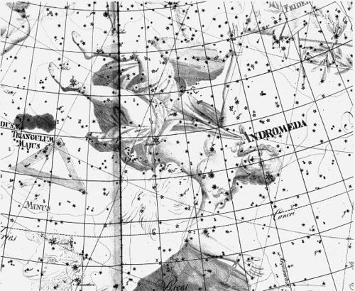 Andromeda Sternbild