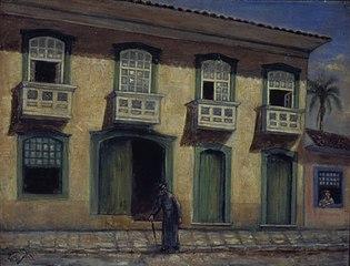 Paço Episcopal de São Paulo, 1822