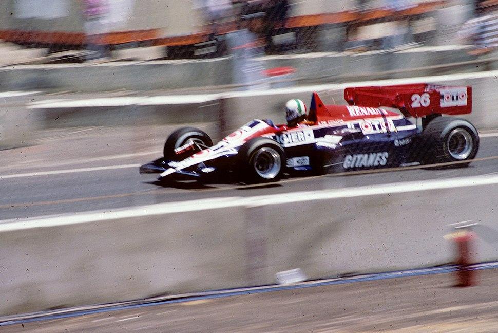 Andrea de Cesaris 1984 Dallas