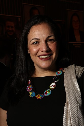 Global Teacher Prize - Andria Zafirakou of the United Kingdom, winner of the Global Teacher Prize for 2018