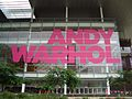 Andy Warhol exhibition sign, GOMA.jpg