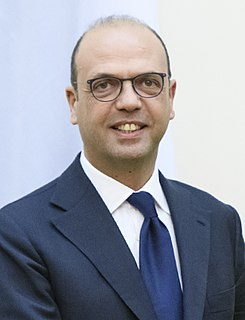 Angelino Alfano Italian politician