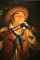Angelo inganni, contadino che accende la candela con un tizzone ardente, 1850, 02.JPG