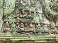 Angkor - Ta Prohm - 019 Carved Figures (8580850315).jpg