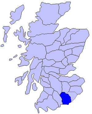 Lord of Annandale - Extent of Lordship of Annandale