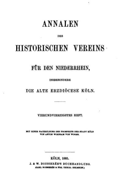 File:Annalen des Historischen Vereins für den Niederrhein 44 (1885).djvu