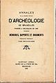 Annales Soc. Archeologie Bruxelles XXXIX 1935 imprim. Alphonse Ballieu.jpg