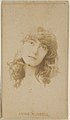Annie Russell, from the Actors and Actresses series (N45, Type 8) for Virginia Brights Cigarettes MET DP831704.jpg