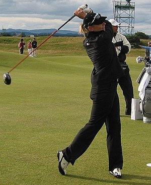 Annika Sörenstam - Sörenstam at the Women's British Open in 2007