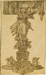 Design for a reliquary (?)
