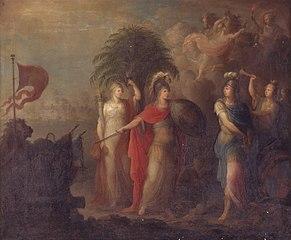 Allegori på slaget den 2. april 1801