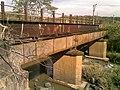 Antiga ponte ferroviária (Ytuana) sobre o Ribeirão Piraí no limite dos municípios de Salto e Indaiatuba. Ao lado dela está a atual (Variante Boa Vista-Guaianã km 212) - panoramio - zardeto.jpg