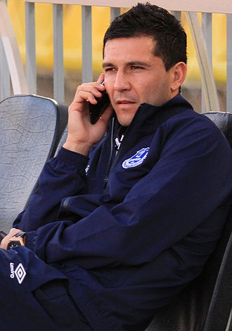 Antolín Alcaraz - Alcaraz with Everton in 2014