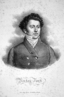 Anton Forti, by Joseph Lanzedelly the Elder (Source: Wikimedia)