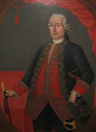 José Miguel Pey de Andrade - Viceroy Antonio José Amar