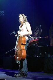 Eicca Toppinen na festiwalu Metalmania 2005