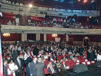 Apollo Theater - The inside of the theater as seen from the stage