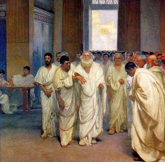 Appius Claudius Caecus - Image: Appio Claudio Cieco in Senato