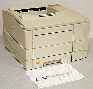 1993 Apple LaserWriter Pro 630 laser printer