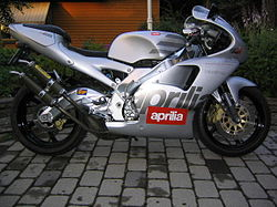 1997 Aprilia RS250.