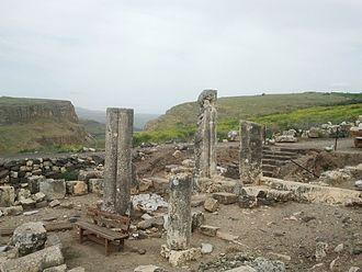 Mount Arbel - Arbel ancient synagogue