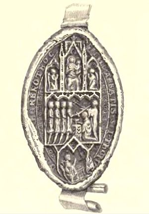 Abbot of Arbroath - Another abbey seal, again depicting the murder of St Thomas Becket