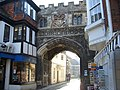 Archway into Cathedral Close - geograph.org.uk - 215287.jpg