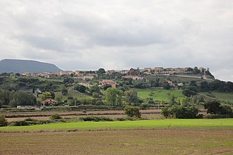 Ardara, Sardinia - Image: Ardara Panorama (02)