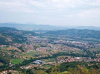 Arilje - Image: Arilje pogled selo 6733