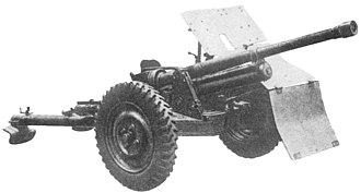 Bofors 37 mm - Polish wz.36 anti-tank gun.