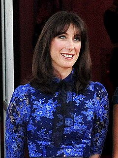 Samantha Cameron British business executive and wife of David Cameron