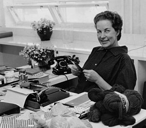 Female entrepreneurs - Finnish entrepreneur Armi Ratia (1912–1979), founder of the Marimekko textile and home decorating company.