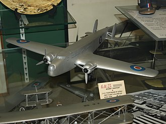Armstrong Whitworth A.W.23 - Model of A.W. 23