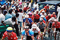 Armstrong et Dufaux - World Cycling Championships 1990 - Amateur Men's Road Race.jpg