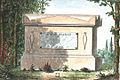 Arnaud - Recueil de tombeaux des quatre cimetières de Paris - Delille (colored).jpg