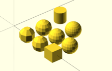 OpenSCAD User Manual/Tips and Tricks - Wikibooks, open books