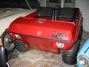 Amphibious ATV - Image: Artés Gato Montés 1971