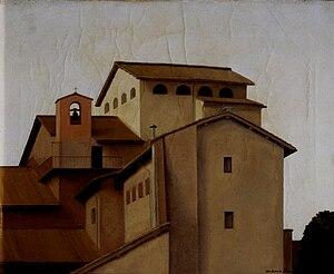 Antonio Donghi - Convento, 1928 ca. (Fondazione Cariplo)