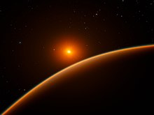 Artist's impression of the super-Earth exoplanet LHS 1140b.jpg